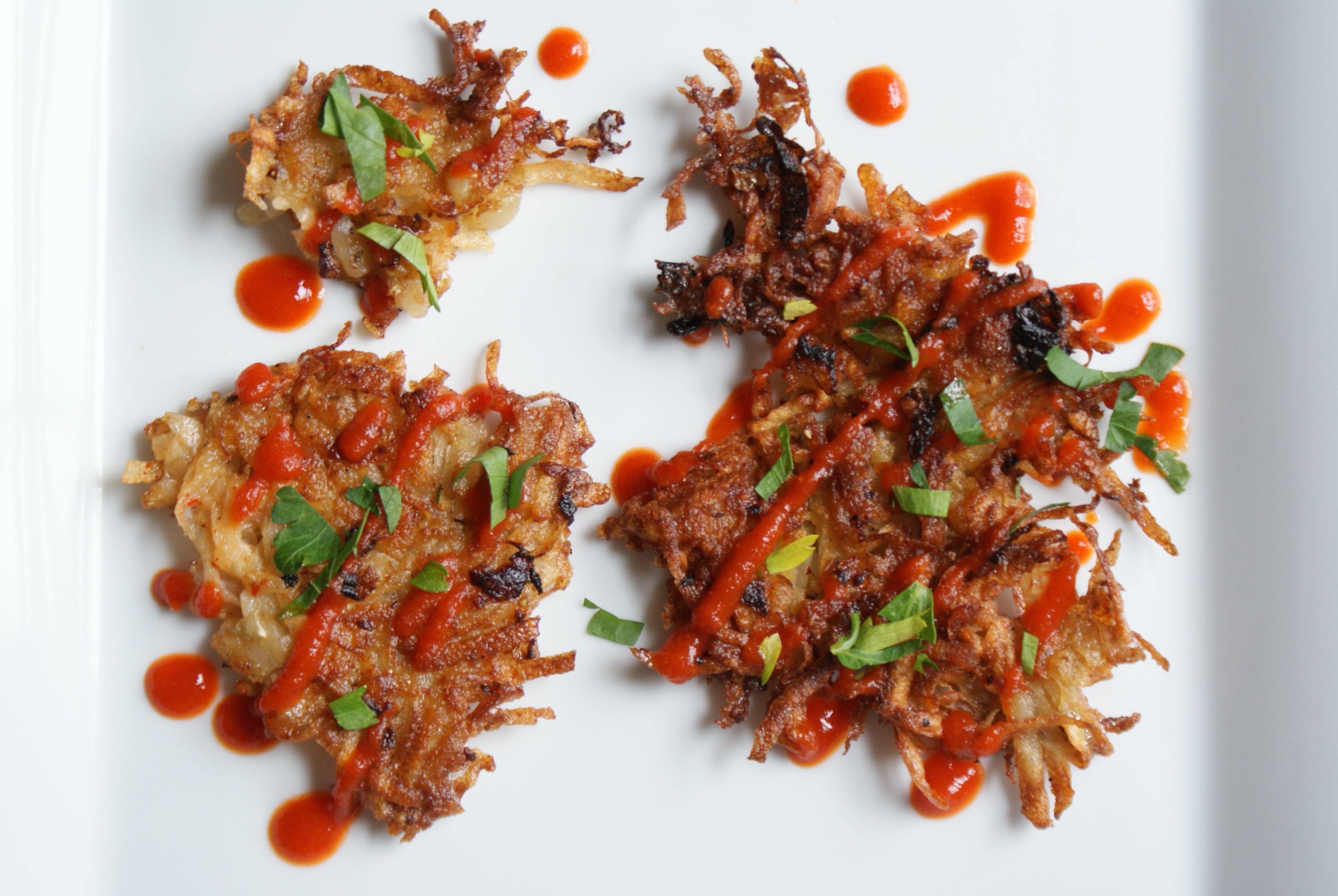 Latkes, 3 ways
